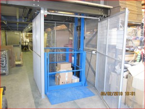Mezzanine Goods Floor Lifter