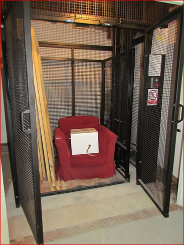 Bespoke Goods Lift installed in Devon