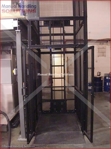 Goods Lift for R.I.M Plastics Technology Ltd