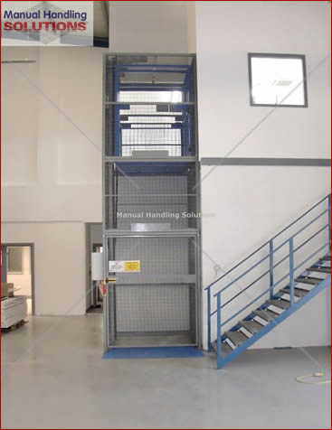 Goods Lift with 300kg SWL Capacity