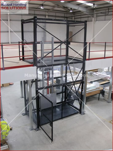 Goods Lift 1000kg for the Wellcome Trust