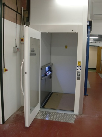 Goods – Passenger Vertical Platform Lift St Ives Cambridgeshire