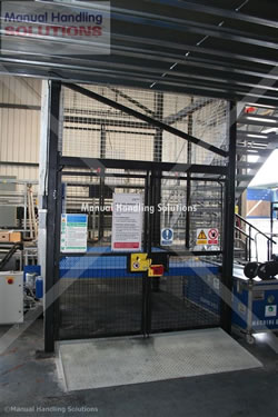 Stage Electrics Bespoke 1500kg Goods Lift Installation