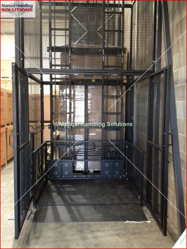 Goods Lift installed in Suffolk