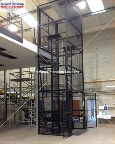 MezzLift installed in Thame Oxfordshire