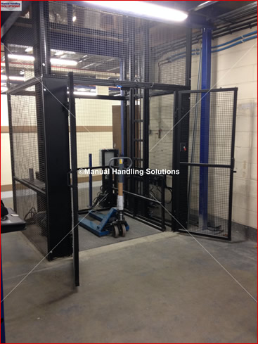 Goods Lift installed in Essex