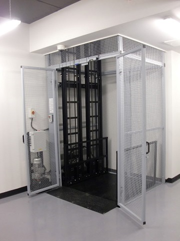 Goods lift installed in Manchester