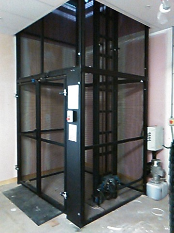 Goods Lift installed in Edinburgh