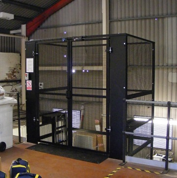 500kg Mezz Goods Lift for Greater Manchester