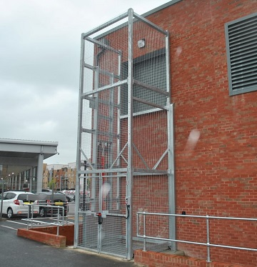 Galvanised Goods Lift Bracknell Berkshire
