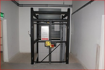 Goods Lift installed Auchinleck