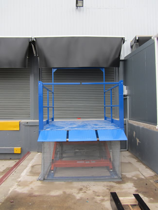 Loading Bay Scissor Lift Table