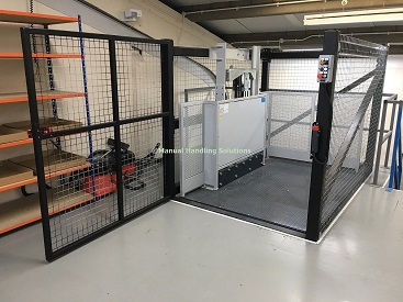 Mezzanine Goods Lift Roller Shutter Door