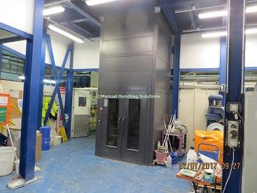 Mezzanine Goods Lift Hertfordshire
