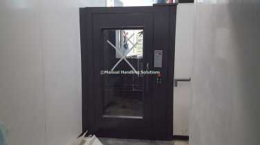 Small Split Level Goods Lift