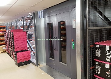 Mezzanine Goods Lift Cheshire