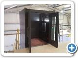 Goods Lifts for Mezzanine Floors Cladded
