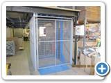 Mezzanine Floor Lifter- Manual Handling Solutions Goods Lift installed in Poole, Dorset