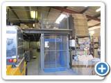 Somerset Goods Lift installed