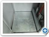 Galvanized Goods Lift Platform