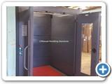 Mezzanine Goods Lift with Attendant Controls