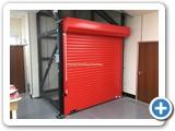 Mezzanine Goods Lift Roller Shutter Door