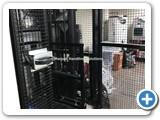 Basement Hydraulic Goods Lift