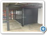 Goods Lift Clad Panels