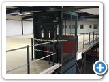 Goods Lift Structure Mesh Panels