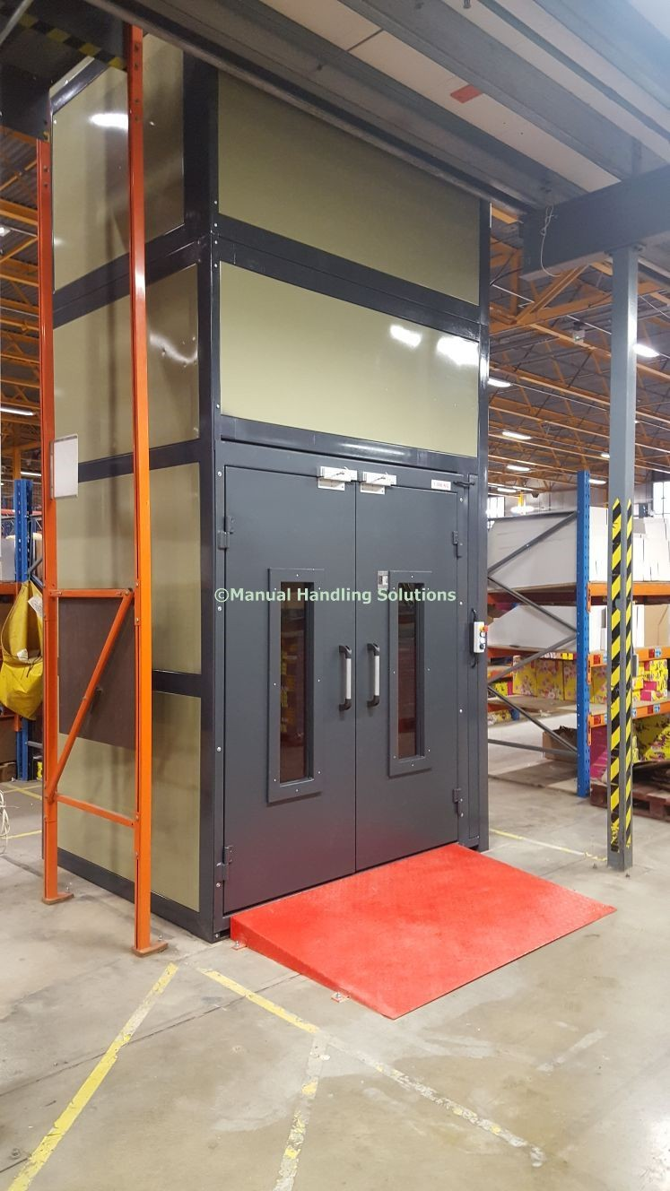 mezzanine goods lift corby northamptonshire  mezzanine