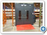 1000kg Mezzanine Goods Lift Hydraulic Corby