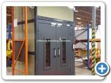 Mezzanine Goods Lift Clad Panels Corby
