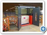 Mezzanine Goods Lift Pallet Racking Northamptonshire
