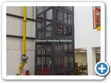 Manual Handling Solutions Goods Lift London