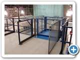 Mezzanine Floor Lifter- Fisher BioServices UK Goods Lift - Bishops Stortford