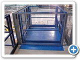 Mezzanine Floor Lifter- Goods Lift - Installed in Bishops Stortford
