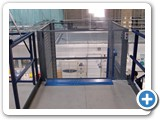 Mezzanine Floor Lifter- Fisher BioServices UK Goods Lift - Bishops Stortford Herts