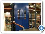 Mezzanine Goods Lift Large Doors