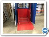 Mezzanine Goods Lift Platform Protection