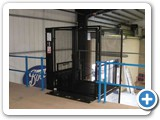 Mezz Lift, Goods Lift, installed at Boots Warehouse, Thurrock, Essex