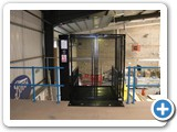 Mezz Lift,  installed at Boots Warehouse, Thurrock Essex