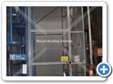 Manual Handling Solution installed at Comma Oil Single Pallet Goods Lift 500 kg Capacity