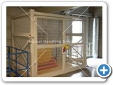 Goods Lift with a lift capacity of 1000kg installed in Kings Lynn Norfolk