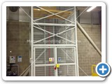 Goods Lift with a total raised height of 11,543mm and a lift capacity of 1000kg installed in Kings Lynn