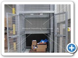 galvanised goods lift 2000kg