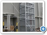 goods lift galvanized 2000kg