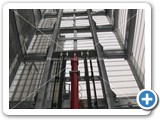 goods lift mast galvanised 2000kg