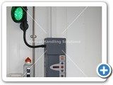 upper level door control trafic light