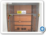 Goods Lift with 300kg SWL Capacity installed by Manual Handling Solutions