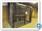 large platform goods lift